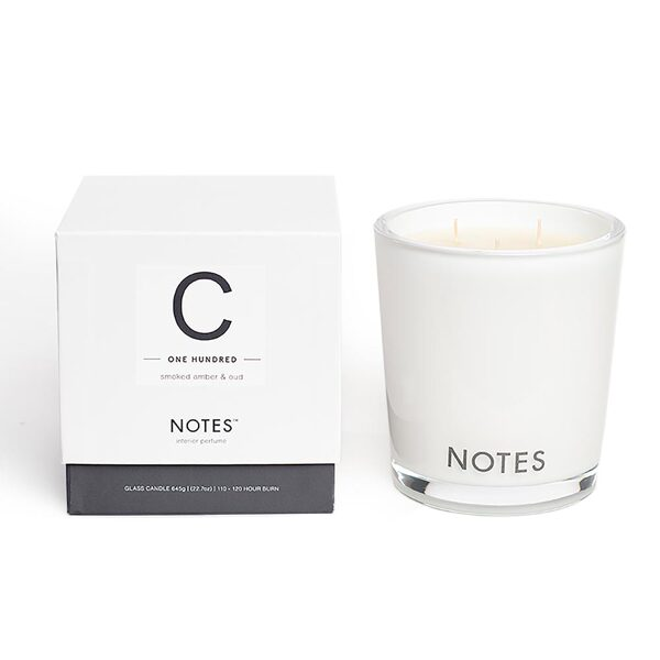NOTES Large Candle C
