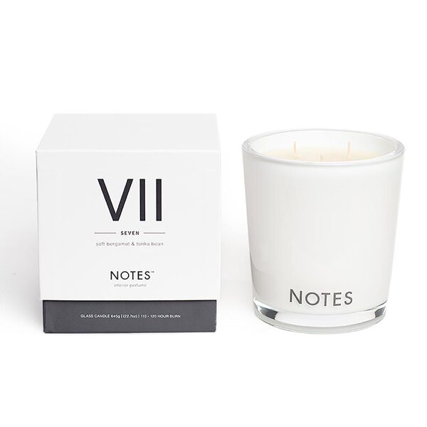 NOTES Large Candle VII