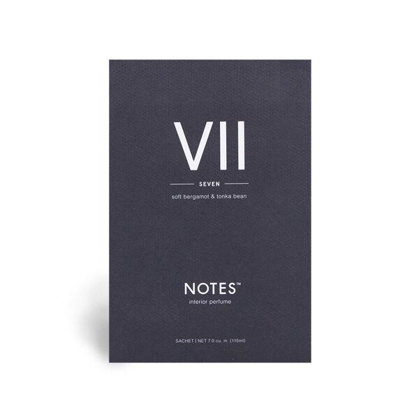 NOTES perfumed sachet VII